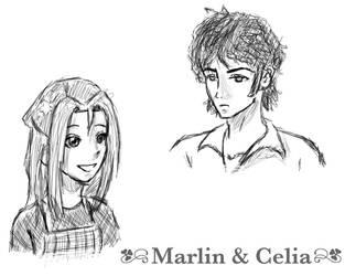 Marlin and Celia by kichihayashi