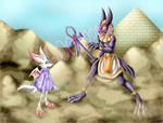 Anubis vs Fire