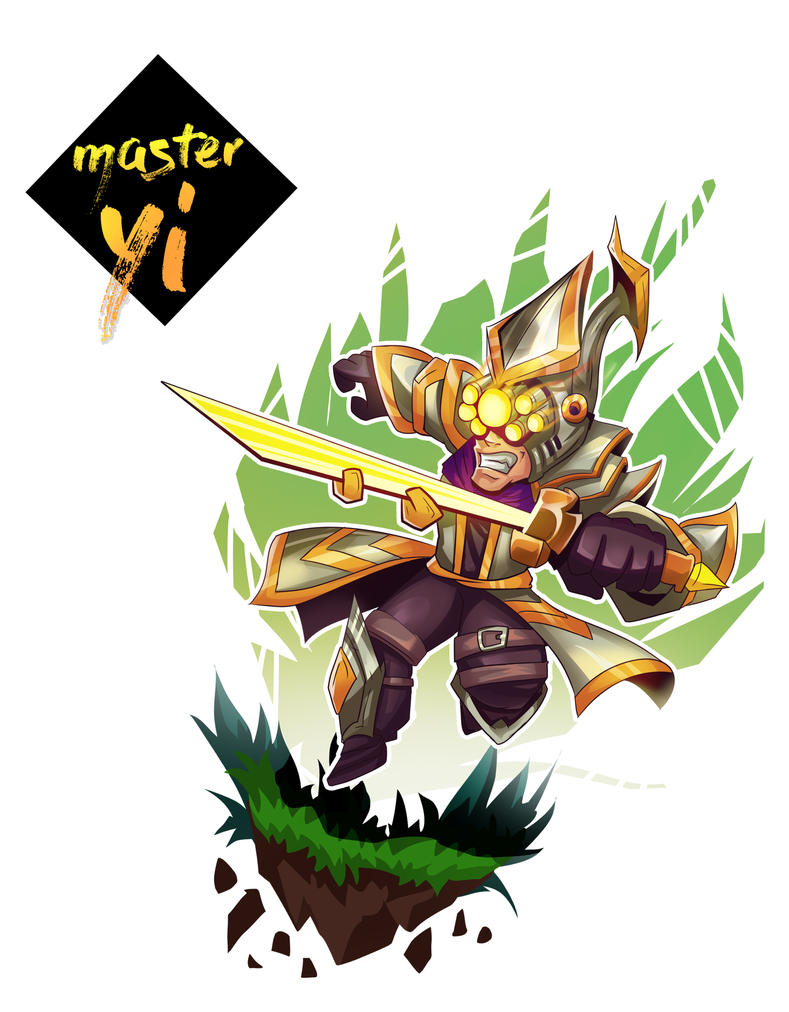 master yi chibi by bmsolari on deviantart
