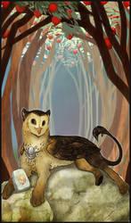 G. Tarot - The High Priestess by Bailiwick