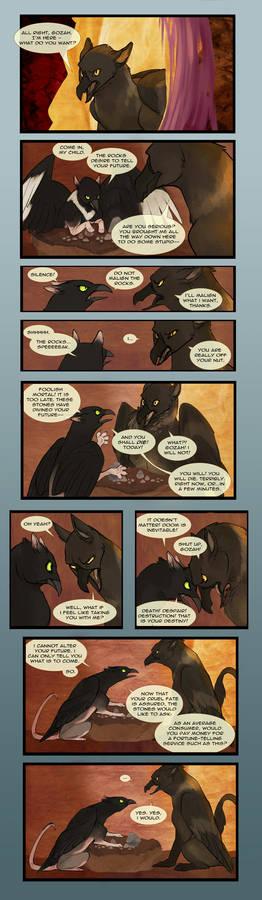 Grimmald and Gozah - A Comic