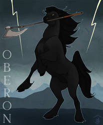 Dreamspirit Commish - Oberon by Bailiwick