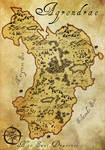 Agrondrae Map by Bailiwick