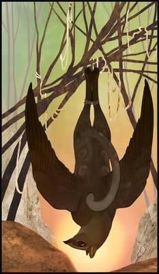 Gryphon Tarot - Hanged Man