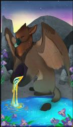 Gryphon Tarot - Temperance
