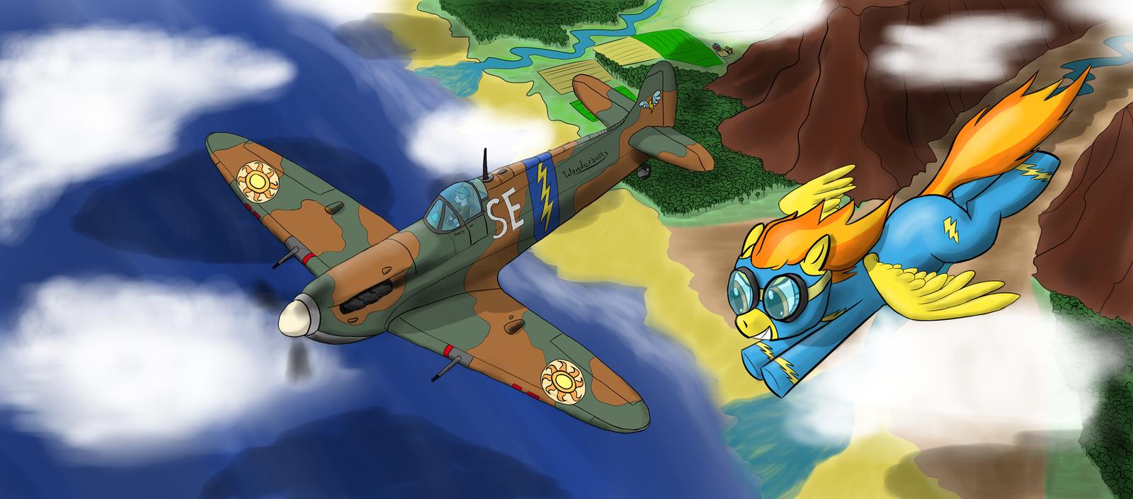 Spitfire Vs. Spitfire by LaptopGun
