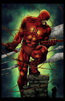 Daredevil Colors by CrisstianoCruz