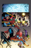 Spiderman  Page Colors. by CrisstianoCruz