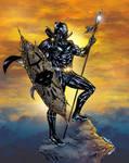 T Challa  King Of Wakanda  Black Panther colors