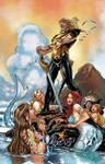 Aquaman with Mermaids Colors by CrisstianoCruz