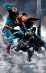 Batman VS Superman Colors. by CrisstianoCruz