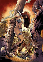 Red Sonja Colors.