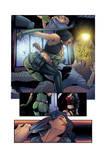 Van Helsing VS Robin Hood Page #02 Colors