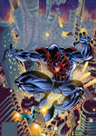 Spiderman 2099 Cover #01 Colors