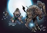 Werewolf Nigthwar Battle Chaser colors