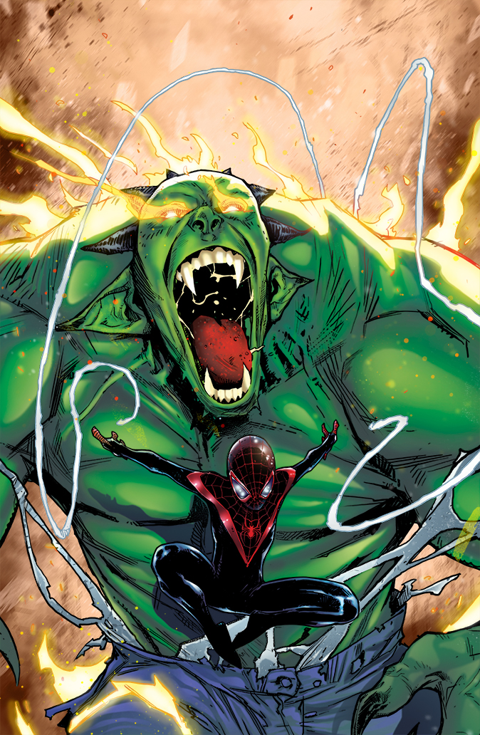 Spider-Man Miles Morales Colors by CrisstianoCruz