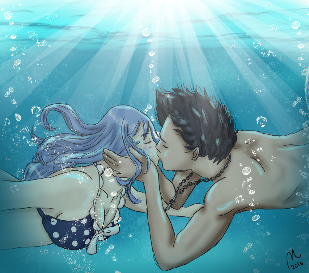 Kiss underwater (Request)