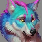 Rainbow Wolf - ICON
