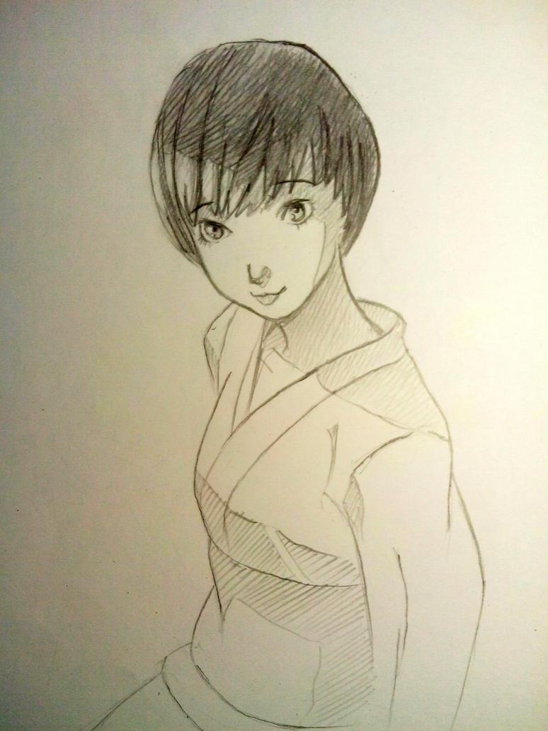 Chie Satonaka by Ama9ota