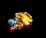 Sonic Mania - Super Sonic sprite