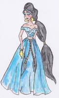 Designer Disney: Jasmine by RainbowMachete