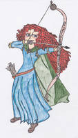 Princess Merida by RainbowMachete