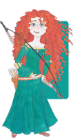 Disney Princesses: Merida by RainbowMachete