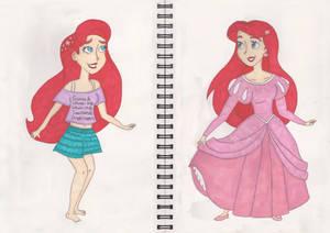 Wreck it Ralph 2- Ariel