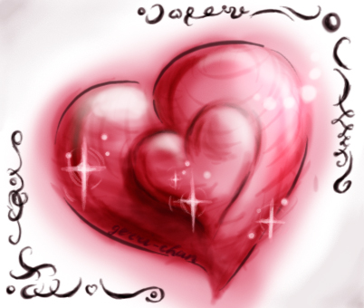 My heart to you... by gerri-chan