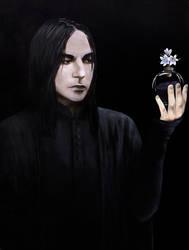 Severus Snape portrait Asphodel