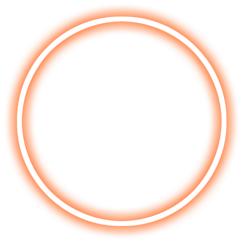 Неоновый круг png