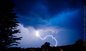 Thunderstorm - rage planet by vertiser