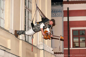 Concert in the air by vertiser