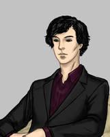 Sherlock II Close Up by Aerlin