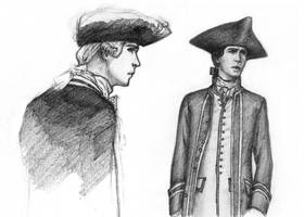Jack Davenport doodles 2 by Aerlin