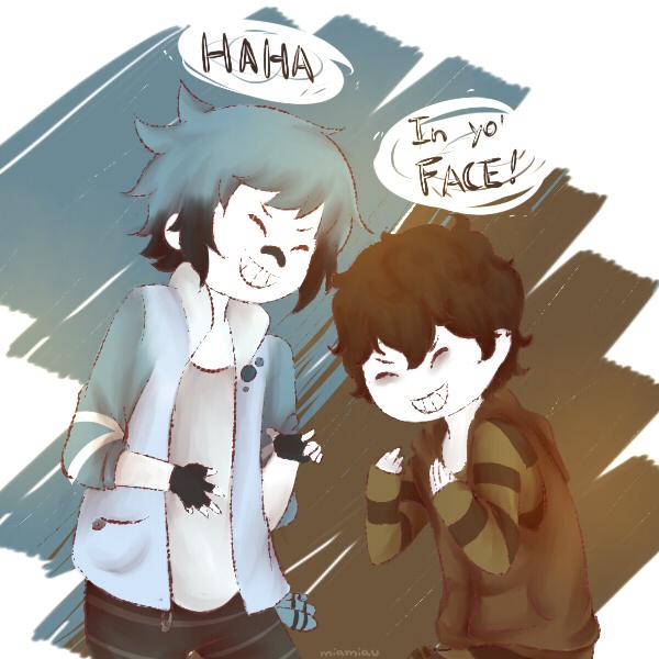 HA HA! by Amichiinyan