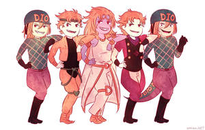 Dio Squad by Amichiinyan