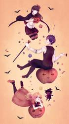 Halloween 2016 [SpeedPaint] by Amichiinyan