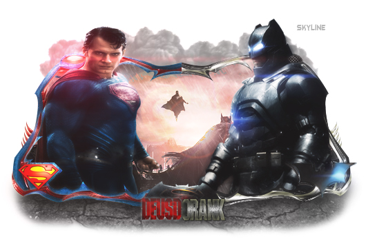 BatmanVSuperman by skyline157