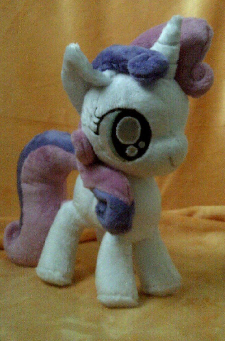 Sweetie Belle Plush by SillyBunnies