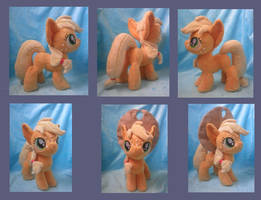 Applejack Filly (for sale) by Pastelblueunicorn