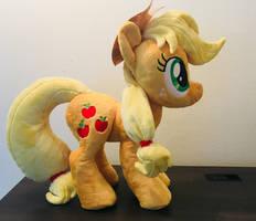 Applejack Plush (for Sale) by Pastelblueunicorn