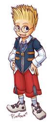 Kingdom Hearts - Lewis by PinkyFreak247