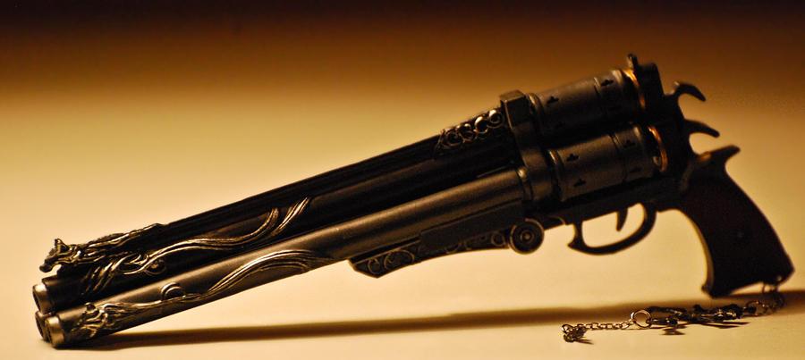 Vincent's Cerberus Gun2 by Phoenix001