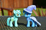Styled Lyra Heartstrings and Trixie