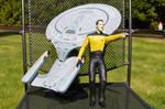 Star Trek Data and the Enterprise by Phoenix001