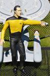 Star Trek Data Painted Figure by Phoenix001