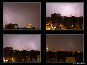 Flashes from my window