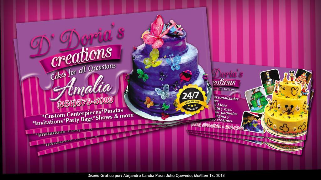 Cake Art Coupon : promo Cakes card copy by aletspandia on deviantART