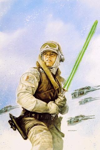 Luke Skywalker by shadowtek